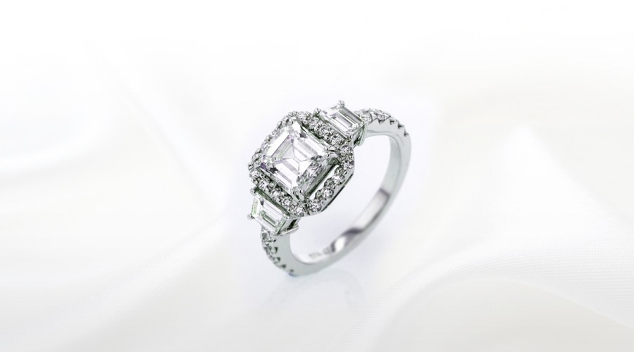 THE CANARY DIAMOND ENGAGEMENT RING